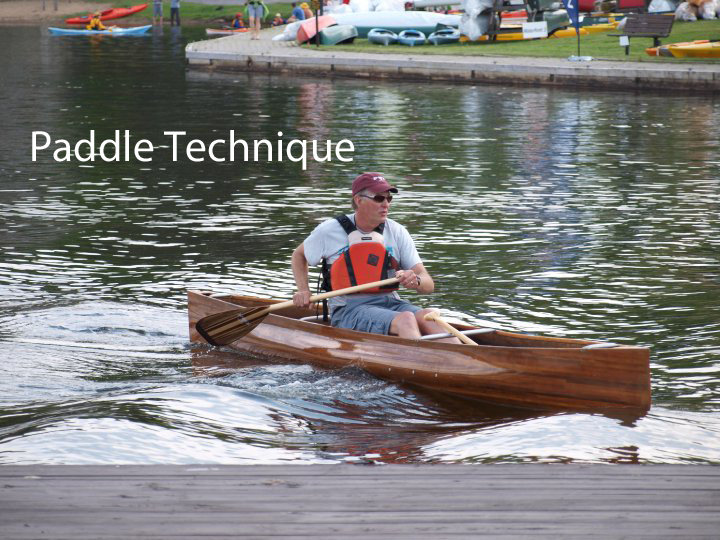 Paddling Technique