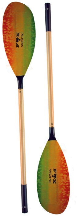 FoxWorx Splash kayak paddle